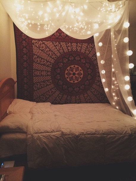 Shirt: bedroom, tapestry, home accessory, mandala, jewels