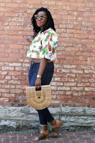 c's evolution of style - a fashion + lifestyle blog by chioma brown blogger bag top