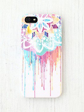 kaiti1011's save of Printed iPhone 5 Case at Free People Clothing Boutique on Wanelo