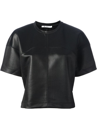 t-shirt alexander wang loose fit t-shirt