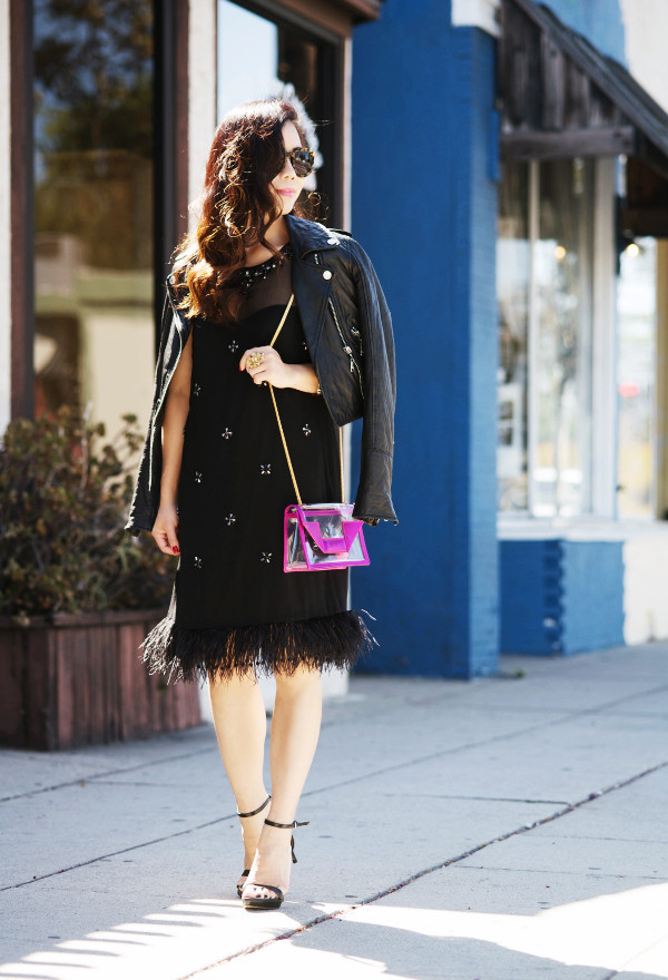 hallie daily blogger jacket bag jewels