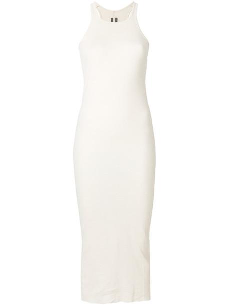 Rick Owens dress women white cotton