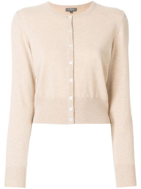 N.Peal cardigan cardigan cropped women nude sweater