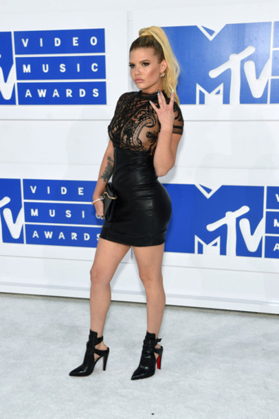 Dress Vma Chanel West Coast Mini Dress Little Black Dress Black