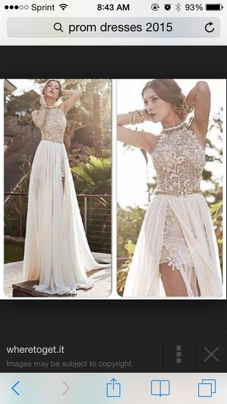 dress prom dress prom gown prom dresses lace lace dress halter dress long prom dress long dress maxi dress two-piece 2015 prom dresses 2015 trends 2014 prom dresses 2015 prom 2015 prom dress slit dress slit slit skirt
