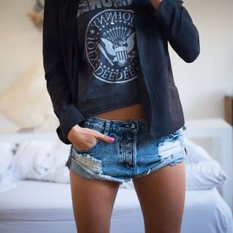 shorts one teaspoon denim blue jean shorts denim cutoffs