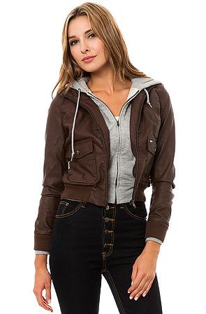 Obey Jacket Jealous Lover in Brown Heather Grey -  Karmaloop.com