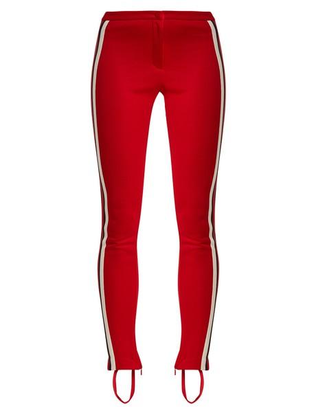 gucci leggings red pants