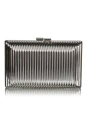 bag,silver metallic clutch,silver clutch,metallic clutch,ribbed box clutch,ribbed clutch,clutch,www.ustrendy.com
