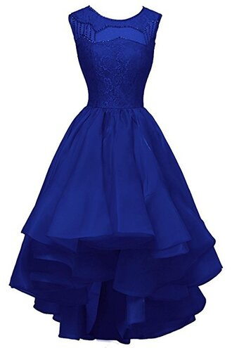 dress royal blue white prom dress party dress wedding dress lace cocktail