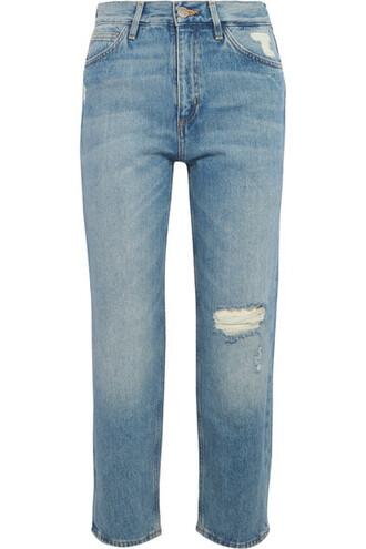 jeans denim cropped light