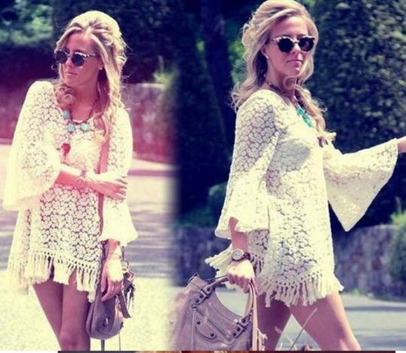 lace shirt lace dress lace blouse gypsy dress vintage embroidery dress hippie boho blouse lace cami lace up