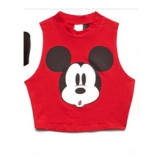 top red t-shirt disney mickey mouse