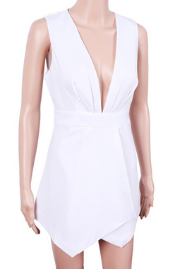 White sands playsuit