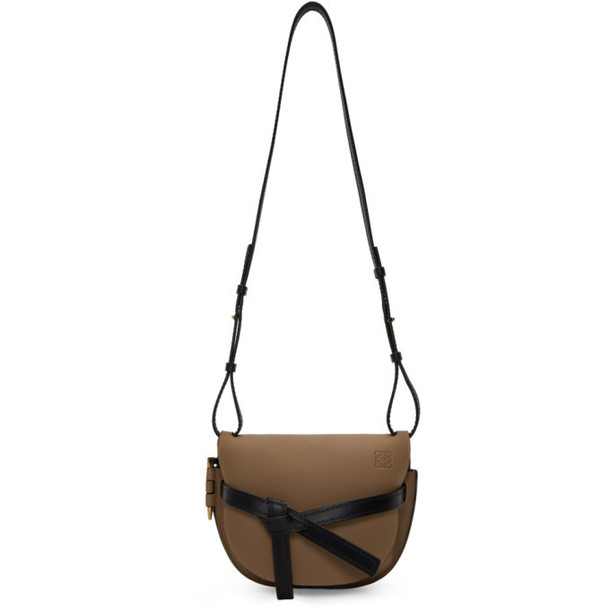 Loewe Tan & Black Small Gate Bag