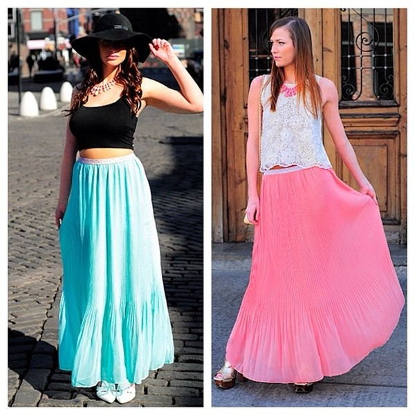 skirt maxi skirt long skirt pleated skirt fashion style stylish fashionista ootd look of the day
