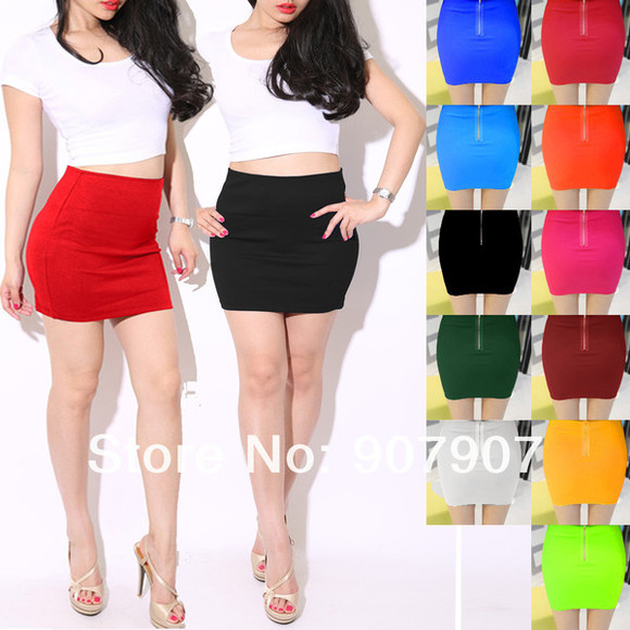 skirt pencil skirt mini skirt fashion skirt clubwear skirt zipper skirt