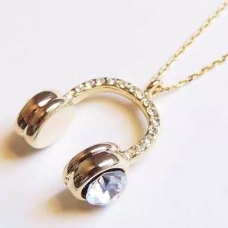 jewels gold diamond necklace diamonds necklace headphones headpiece chail gold necklace gold chain gold chain necklace jewelry