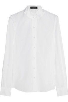 Calvin Klein Collection Lilia cotton shirt - 76% Off Now at THE OUTNET
