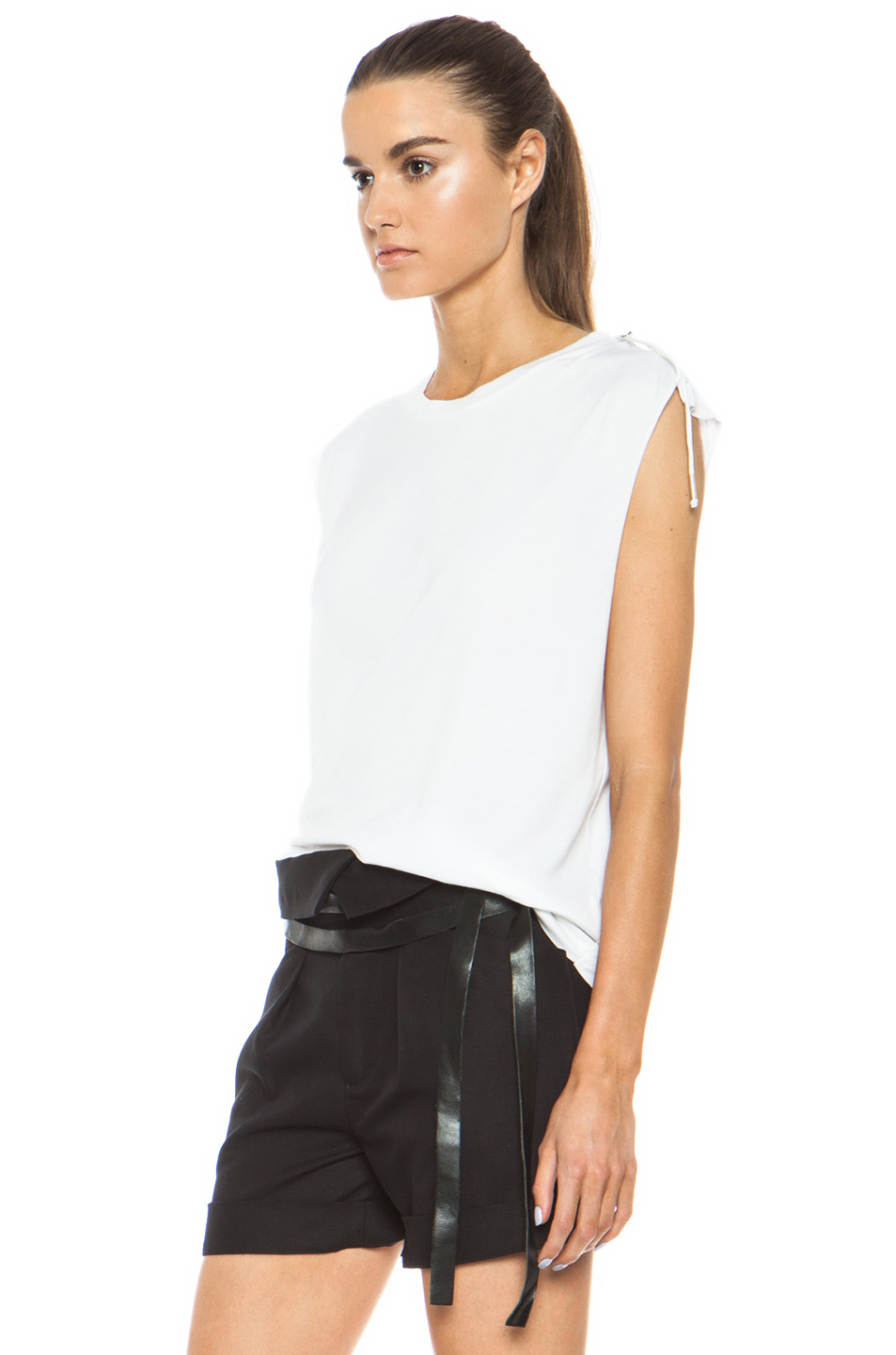 Isabel Marant|Tiara Cotton Tank in White