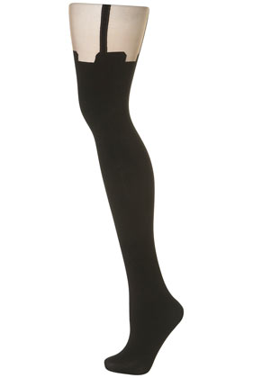 Henry Holland Suspender Tights - Topshop