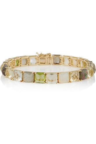 rock candy gold green jewels