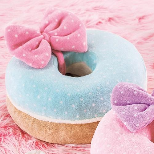 Doughnut Macaron Shaped Legless Chair Sugar Mint Cool Japan Selection Collectible