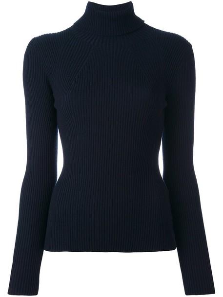 3.1 Phillip Lim jumper women spandex blue wool sweater