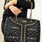Black or white designer inspired handbag blazer bag