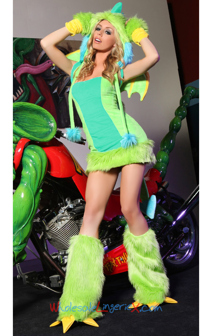 Deluxe Puff the Dragon Costume ACS524 [ACS524] - $23.00 : Wholesale4costumes