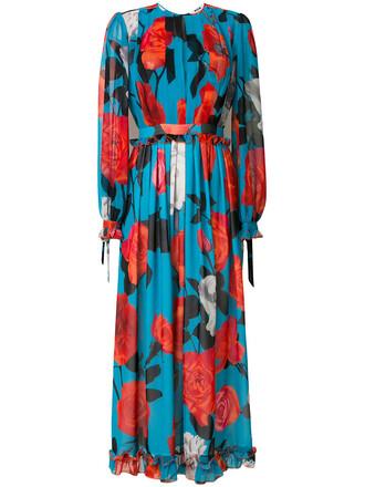 dress print dress women floral print