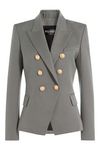 blazer wool grey jacket