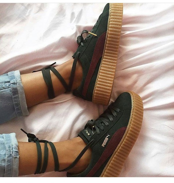 Puma Creepers Brown webit services