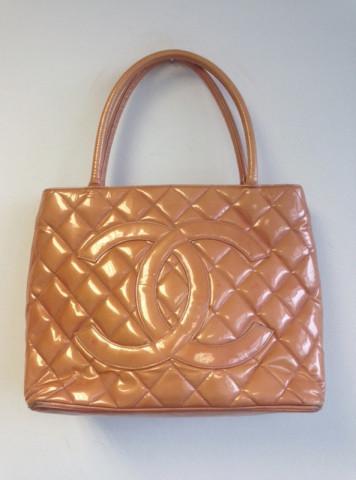 Patent Leather Chanel Tote — Bib   Tuck | Keep.com