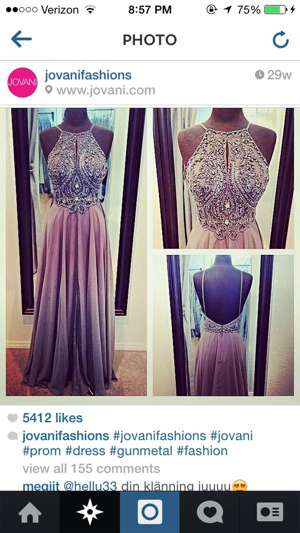 pewter prom dress jovani prom dress dress
