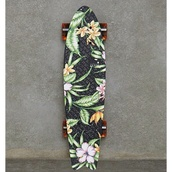 underwear,penny board,cruiser,skateboard,floral,bag
