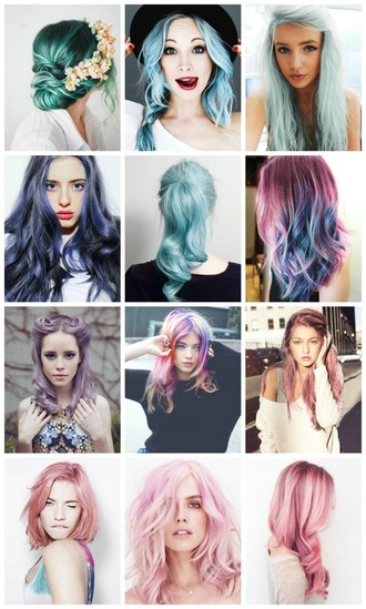 my name is glenn blogger hair accessories hairstyles ombre hair pastel hair hair/makeup inspo
