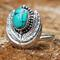 Physis turquoise ring