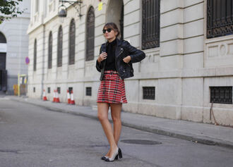 my daily style blogger skirt blouse jacket shoes