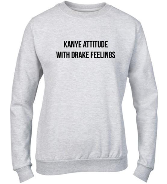 sweater sweatshirt yeezy yeezus kanye west drake fashion