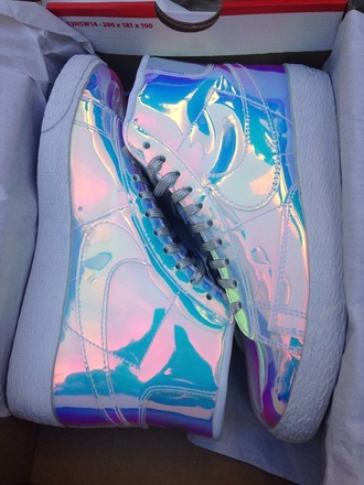 shoes sneakers holographic shoes holographic sneakers holographic nikes