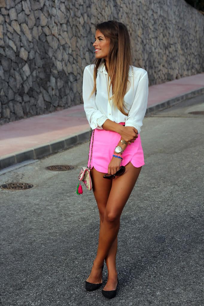 Seams for a desire:  Fluo Pink