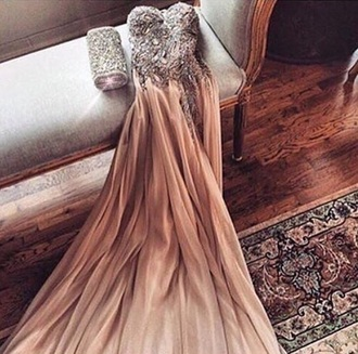 dress strapless copper sequins long dress prom dress mermaid prom dress long prom dress backless prom dress sequin prom dress evening dress long evening dress evening outfits formal dress formal event outfit champagne dress champagne prom dress