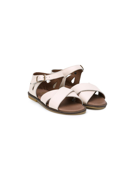 PePe sandals leather nude shoes