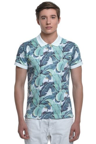 t-shirt polo shirt floral printed polo printed polo shirt menswear mens t-shirt all over print t-shirt full print t-shirt printed t-shirt