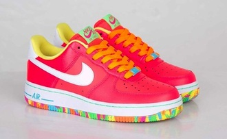 shoes fruity pebbles nike air jordan's neon nike air jordans jordan shoes nike sneakers