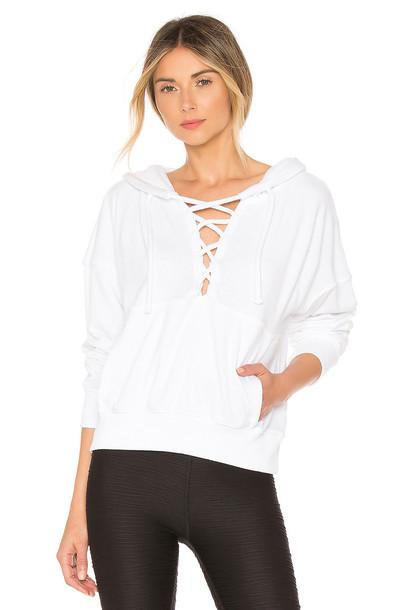 Free People Believer Sweatshirt in white