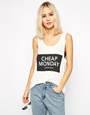 Cheap monday logo vest at asos.com
