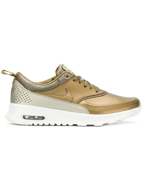 Nike - Air Max Thea sneakers - women - Leather/Polyamide/rubber - 8.5, Green, Leather/Polyamide/rubber