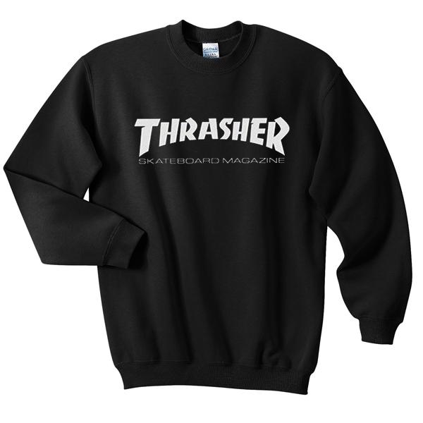 thrasher sweater